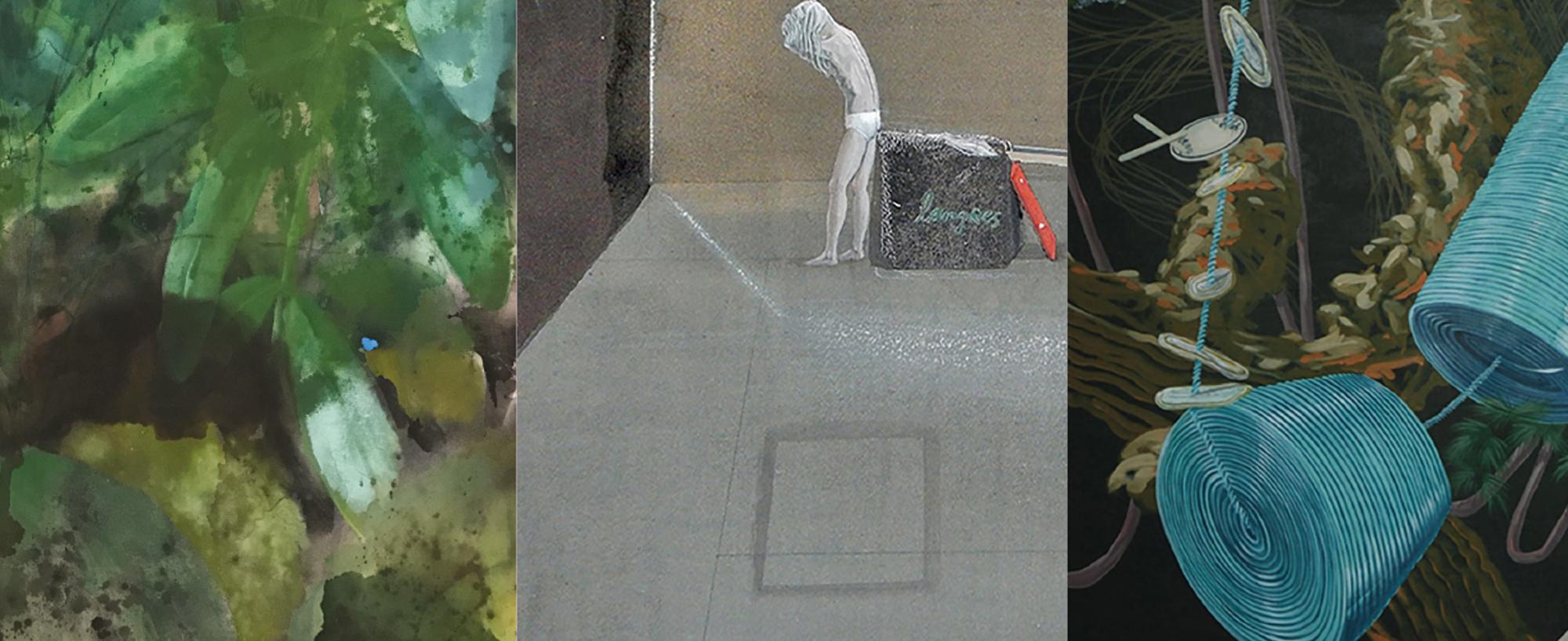 Opening Art Gallery expositie: Van de Wal, Stam en Krause