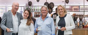 'de koffiesalon' vandaag geopend in WTC Rotterdam
