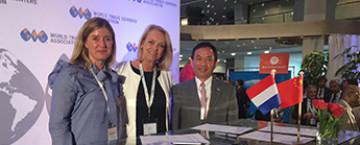 WTC The Hague & Rotterdam tekenen MOU met Shanghai