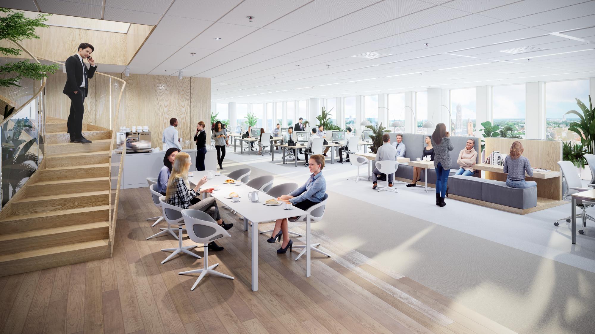 AG/APF verhuurt 1.350 m² in 'Central Park' aan adviesbureau Zanders