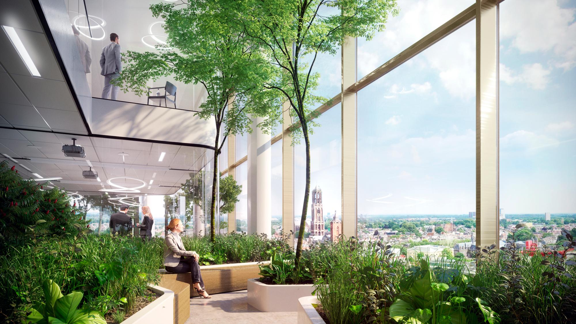 IWG huurt ca. 5.670 m2 in het kantoorgebouw Central Park