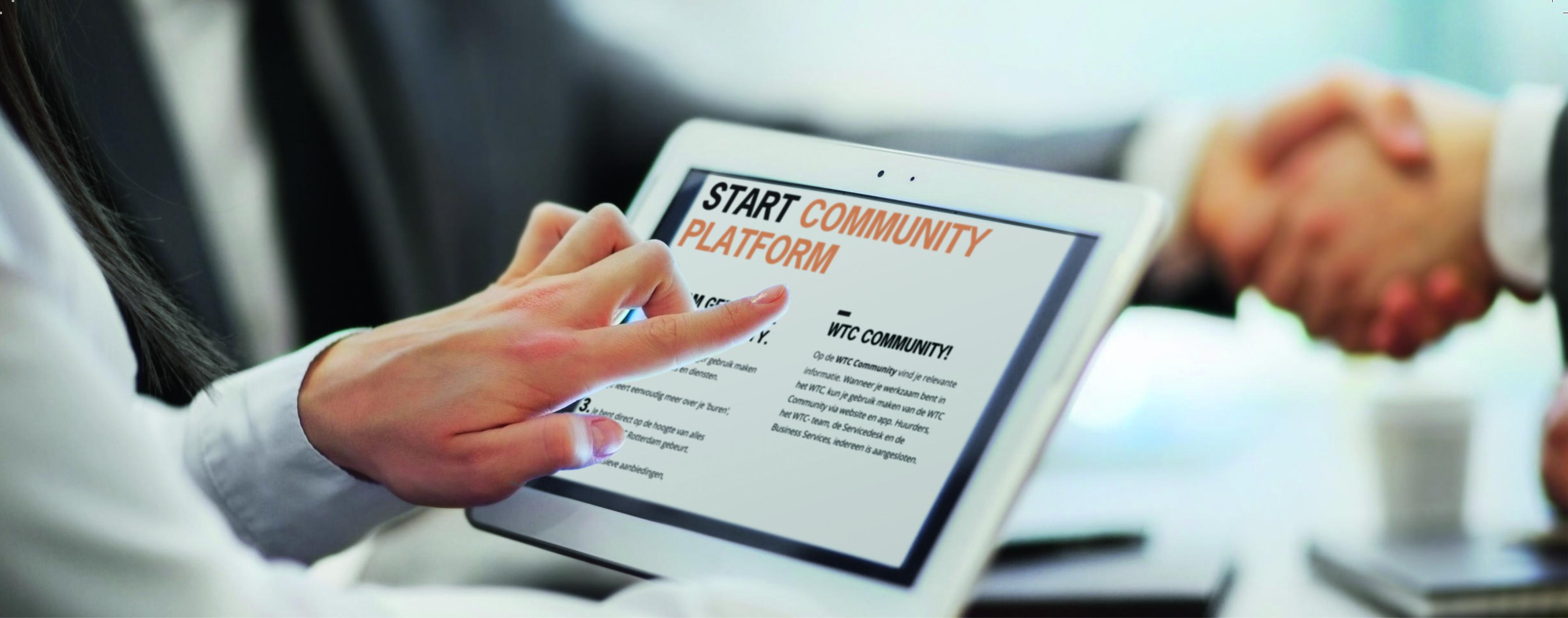 WTC Rotterdam introduceert WTC Community