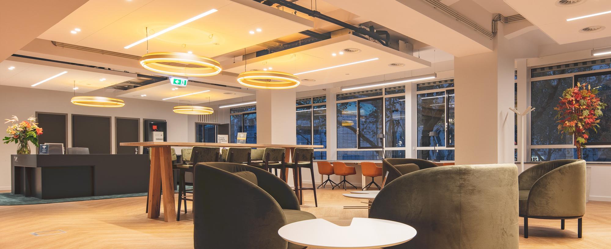Renewed Business Center now open at World Trade Center Rotterdam