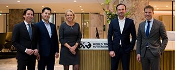 Interparking vestigt Nederlands hoofdkantoor in WTC Rotterdam
